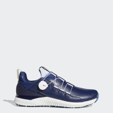 ผู้ชาย กอล์ฟ สีน้ำเงิน รองเท้ากอล์ฟ Adicross Bounce Boa 2.0
