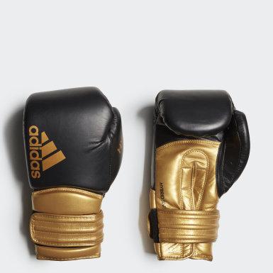 Box čierna Boxerské rukavice Hybrid 300
