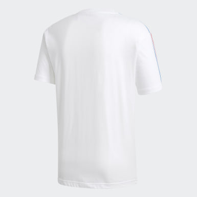 T-shirt 3-Stripes Trefoil 3D Adicolor Branco Homem Originals