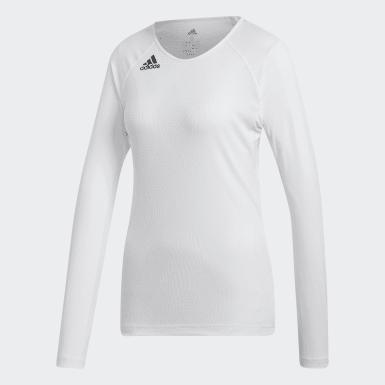 Women's Volleyball White Quickset Jersey