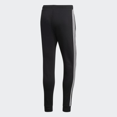Pants deportivos 3 Franjas Negro Hombre Originals