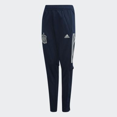 Pantaloni da allenamento Spain Blu Bambini Calcio