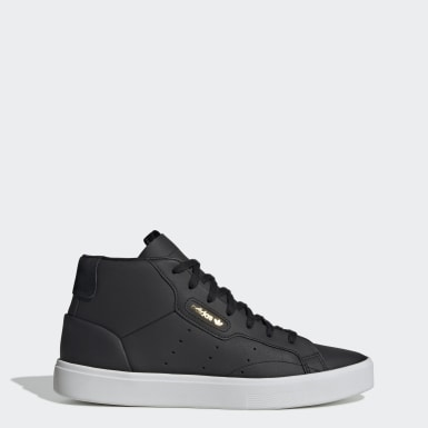 Kvinder Originals Sort adidas Sleek Mid Shoes