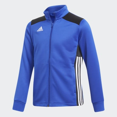 Kinder Training Regista 18 Jacke Blau