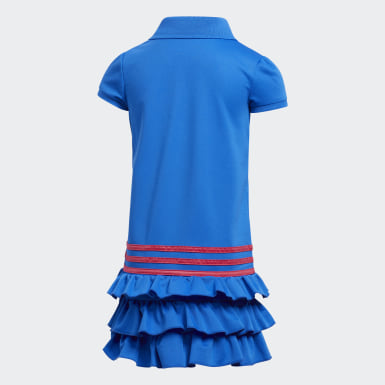 Children Training Blue Polo Dress