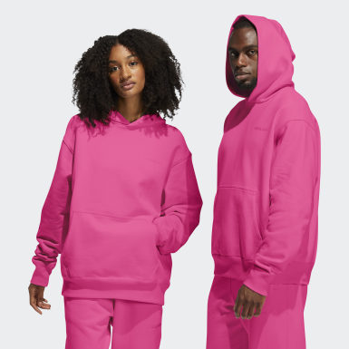 Originals Pink Pharrell Williams Basics Hoodie (Gender Neutral)