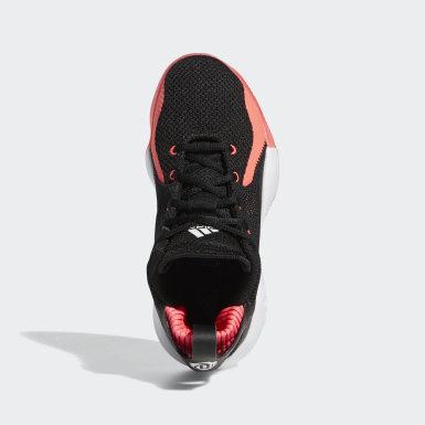 Sapatos D Rose 773 2020 Preto Criança Basquetebol