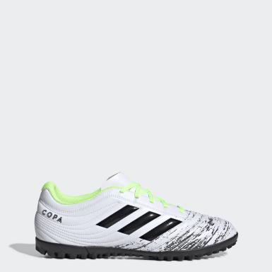 Zapatos de fútbol Copa 20.4 Pasto Sintético Blanco Hombre Fútbol