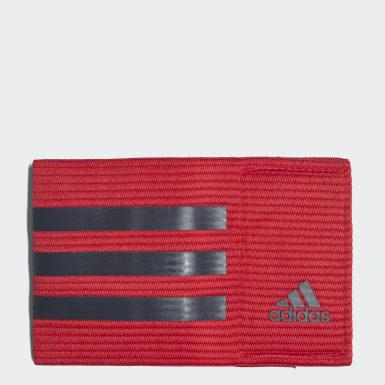 Jineta de Capitán de Fútbol Rojo Fútbol