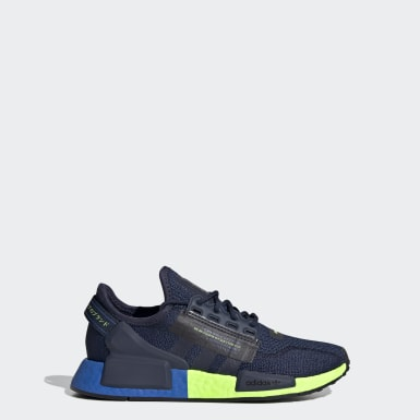 Kids Originals Blue NMD_R1 V2 Shoes