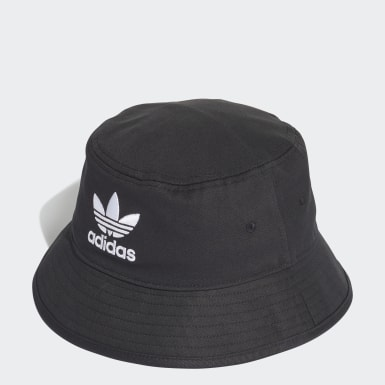 Originals Black Trefoil Bucket Hat