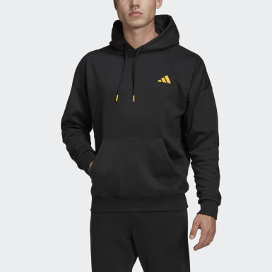 Men's Athletics Black The Lucky Cat Graphic Hoodie