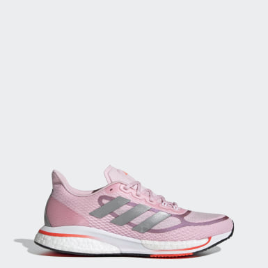 Women Running Pink Supernova+ Shoes