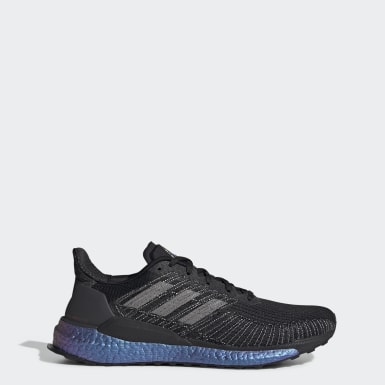 Men Running Black Solarboost 19 Shoes