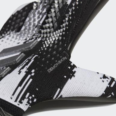 черный Вратарские перчатки Predator 20 League