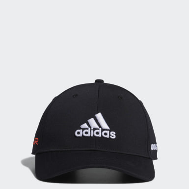 Men Golf Black Tour Cap
