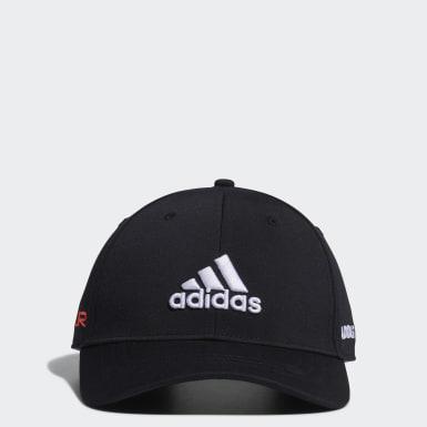 Men Golf Black Tour Cap