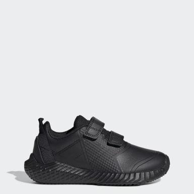 Çocuklar Koşu Siyah FortaGym CF Ayakkabı
