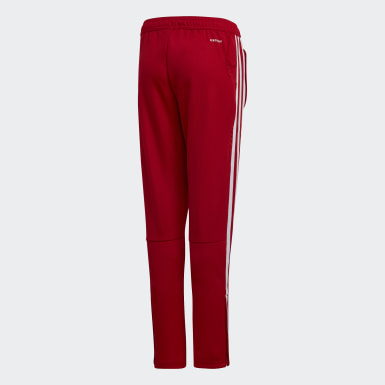 Youth Soccer Red Tiro 19 Training Pants