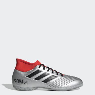Chuteira Predator 19.4 Futsal Prata Homem Futebol