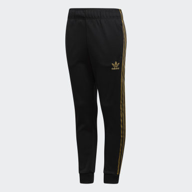 Youth Originals Black SST 24K Track Pants