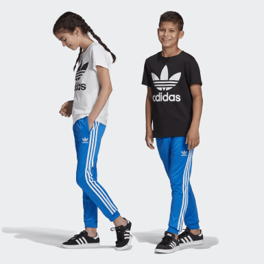 Kids Originals Blue SST Tracksuit Bottoms