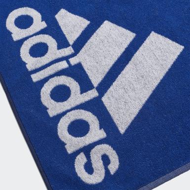 Veld Hockey Blauw adidas Handdoek Small