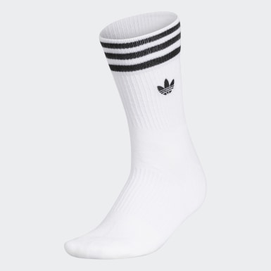 3-Stripes Welt Mid-Crew Socks