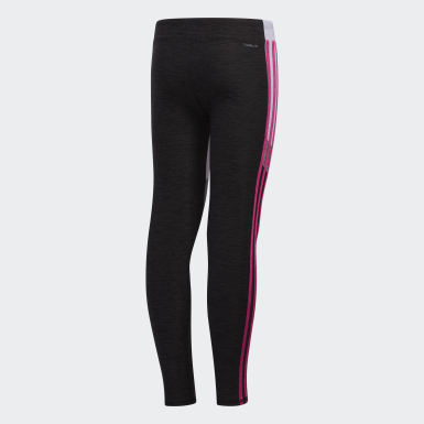 Youth Yoga Pink D2M Mélange Tights