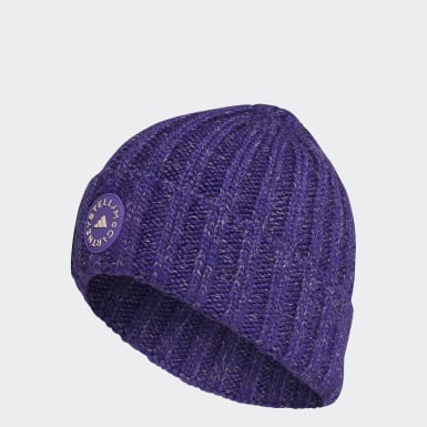 Dames adidas by Stella McCartney Paars adidas by Stella McCartney Beanie