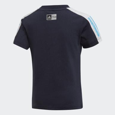 Camiseta Hombre Araña Azul Niño Training