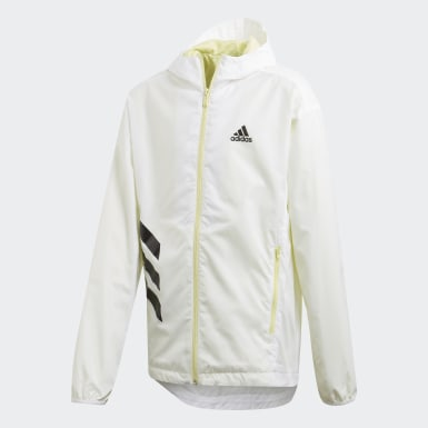 Campera Rompevientos XFG Must Haves Blanco Niño Training