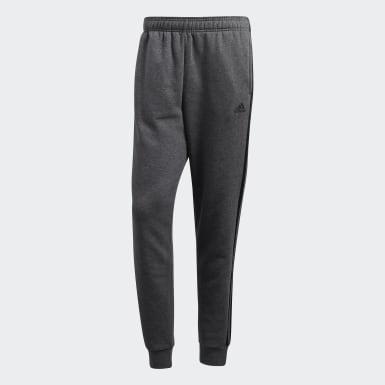 Men's Essentials Grey Essentials 3-Stripes Jogger Pants
