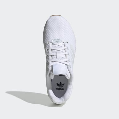 Children Originals White ZX Flux Shoes