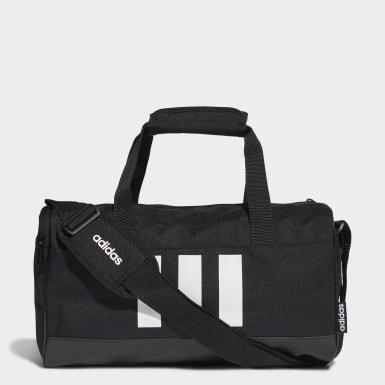 ไลฟ์สไตล์ สีดำ กระเป๋าดัฟเฟิล 3-Stripes ขนาดเล็กพิเศษ