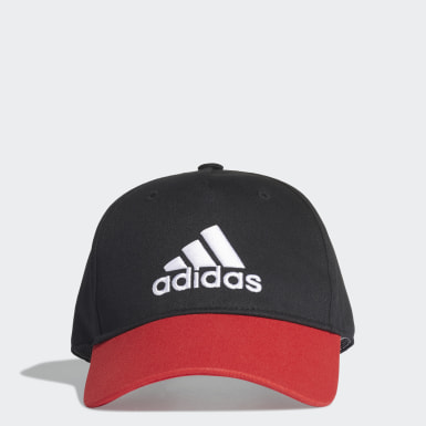 Kids Training Black Graphic Cap