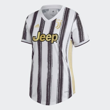 Dames Voetbal Wit Juventus 20/21 Thuisshirt