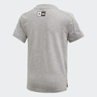 Camiseta Star Wars Gris Niño Training