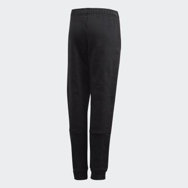 Boys Lifestyle Black Collegiate Pants