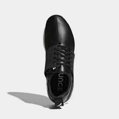 ผู้ชาย กอล์ฟ สีดำ adicross bounce