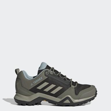 Women TERREX Green Terrex AX3 GORE-TEX Hiking Shoes