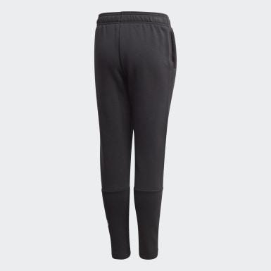 черный Флисовые брюки Must Haves Winter Logo