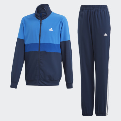 Youth Training Blue Track Suit