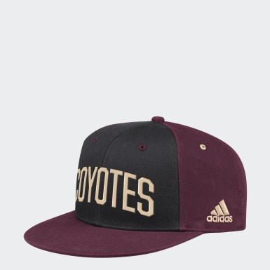 Men's Training Multicolor Coyotes Flat Brim Snapback Hat