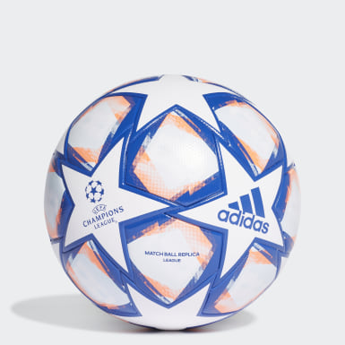 Men Soccer White UCL Finale 20 League Ball