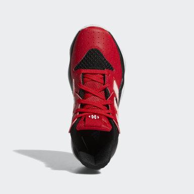 Genç Basketbol Siyah Harden Stepback Ayakkabı