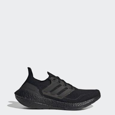 ผู้หญิง วิ่ง สีดำ รองเท้า Ultraboost 21