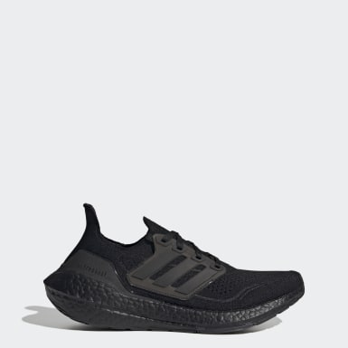 Women Running Black Ultraboost 21 Shoes