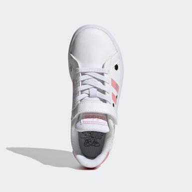 Chaussure Grand Court blanc Enfants Sport Inspired