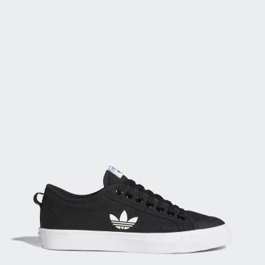 Chaussure Nizza Trefoil noir Originals